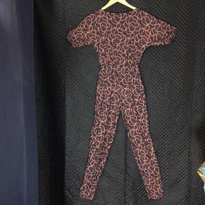 Pants - Vintage paisley onesie. Size XS.